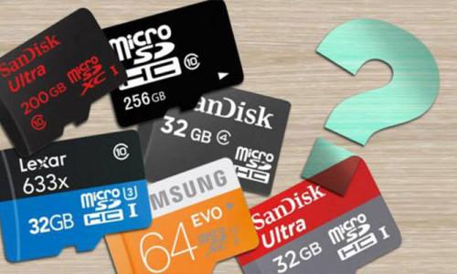 microSD alırken nelere dikkat etmeliyiz