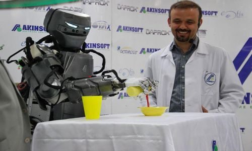Konya'da her hafta bir robot üretiliyor
