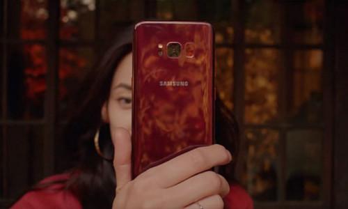 Samsung kırmızı Galaxy S8'i duyurdu