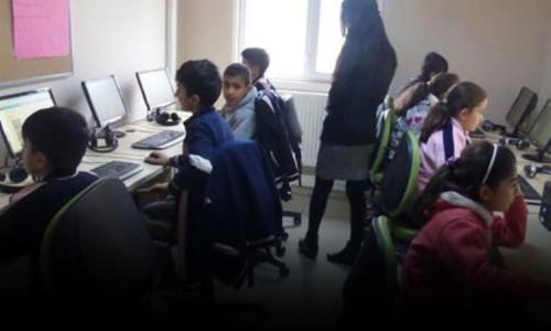 Van'da çocuklar dijital eğitimle tanıştı
