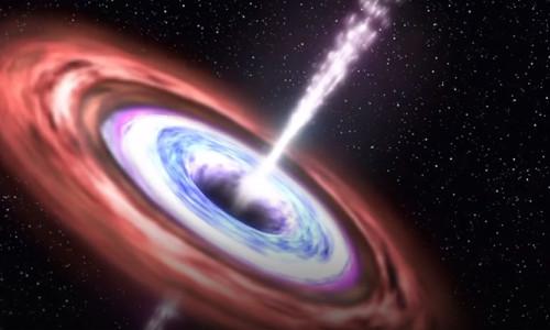 Güneş'ten 800 milyon kat büyük kara delik bulundu