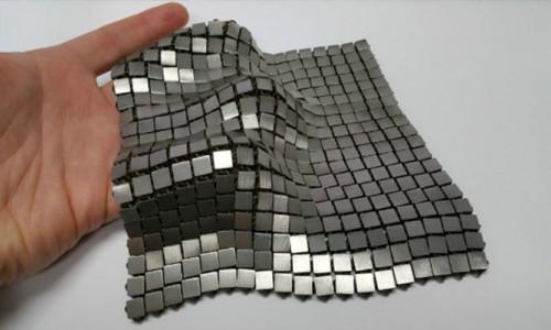 NASA metalik uzay kumaşı üretti