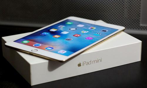 iPad mini için yolun sonu