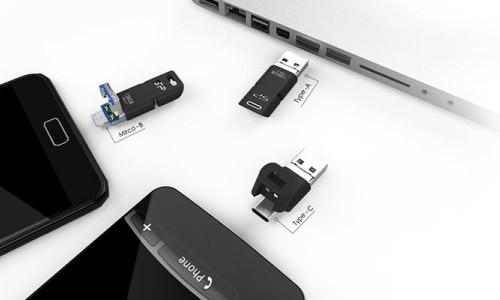 İşte tüm USB portlarına uyacak bir flaş sürücü