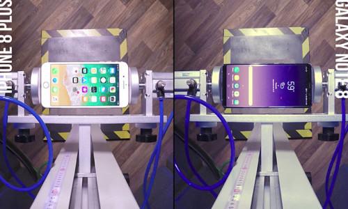 iPhone 8 Plus ve Galaxy Note 8 düşme testinde karşı karşıya!
