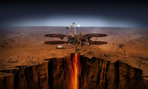 NASA'nın InSight uzay aracı Mars'a resmen ayak bastı