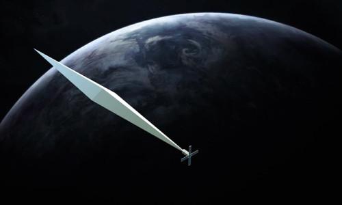 Devasa heykel uzaya yollanıyor