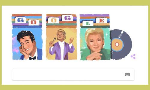 Google'dan Zeki Müren için doodle