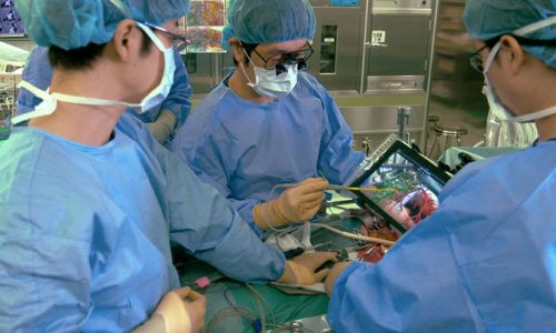 Artırılmış gerçeklikle ameliyat yapılıyor