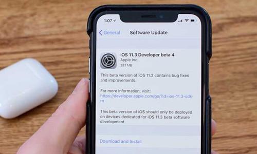 Apple, iOS 11.3 Beta 4'ü yayınladı