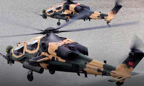 Pakistan'a 30 adet ATAK helikopteri satıldı