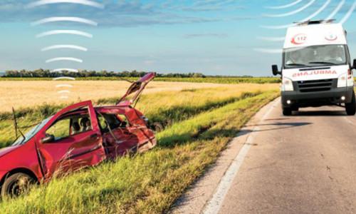 Kazada eCall sistemi için 'yerli sim' baskısı