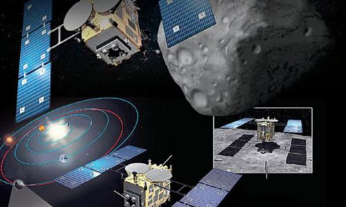 Japon uzay aracından göktaşında trilyonluk maden avı
