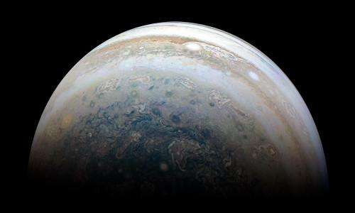 Jupiter'den inanılmaz görüntü