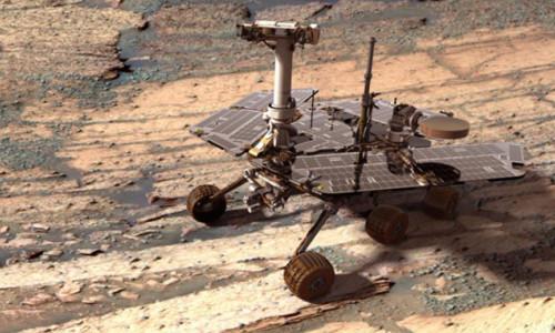 NASA'nın uzay aracı opportunity kayboldu