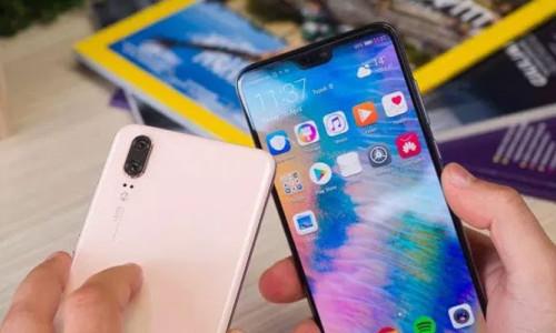 Huawei ekran çentiği ile Apple'a fark attı