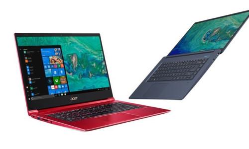 Acer, ultra ince çerçeveli Swift 5'i tanıttı