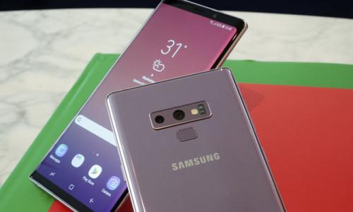 Samsung, Galaxy Note 9'u tanıttı