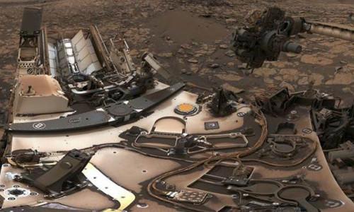 NASA, Curiosity'nin öz çekim fotoğrafını yayımladı