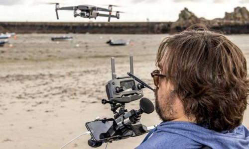 Dünyanın ilk felçli profesyonel drone pilotu