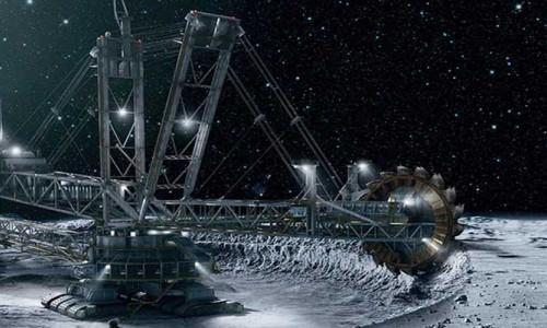 Ay'a gidecek ilk inşaat şirketi Caterpillar