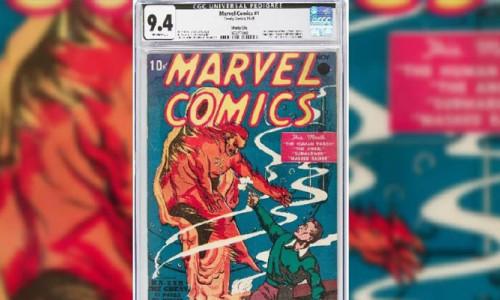 Marvel'ın ilk çizgi romanı, rekor fiyata satıldı
