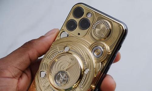 Elmas tabanlı altın iPhone 11 Pro fiyatı ile şaşırtıyor