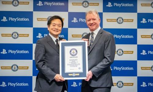 PlayStation Guinness rekorlar kitabına girdi