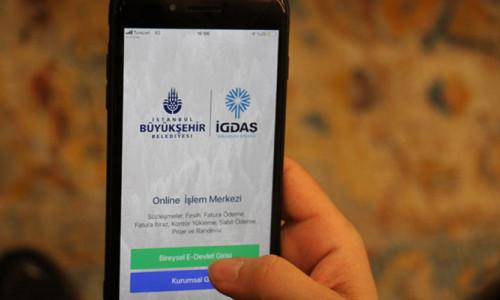 İGDAŞ Mobil Uygulaması hizmete açıldı