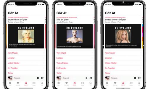 Apple Music'den anlamlı jest