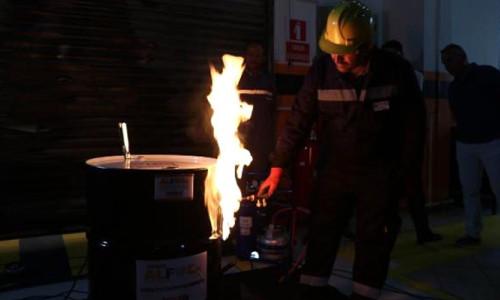 Yangın ve patlamalarda hasar o sistemle en aza inecek