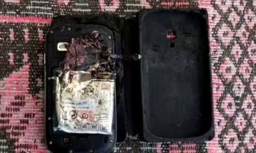 Adıyaman'da bir akıllı telefon sahibinin cebinde patladı