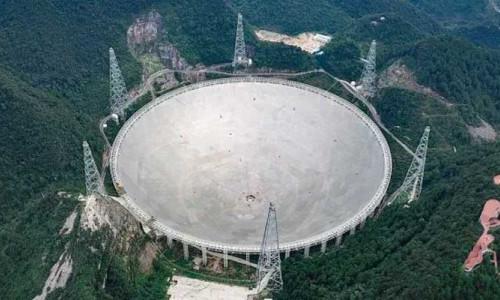 Dünyanın en büyük teleskobu FAST iş başında!