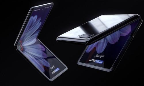 Samsung Galaxy Z Flip'in tasarımı ortaya çıktı