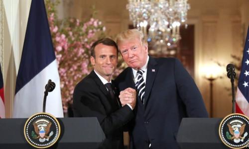Trump Macron'u ikna etti! İnternet vergileri askıya alındı