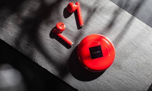 Huawei FreeBuds 3'ün kırmızı rengi şubat ayında Türkiye'de