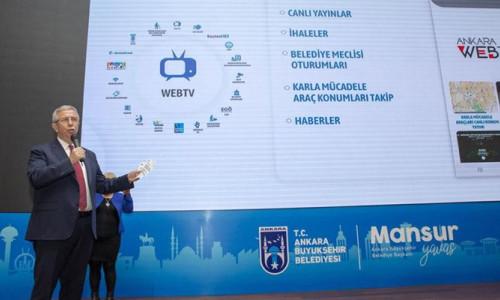 Başkent Mobil uygulaması tanıtıldı