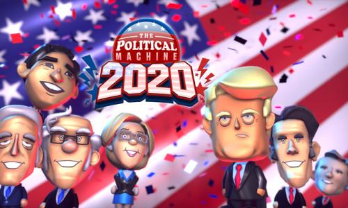 The Political Machine 2020 PC için çıktı