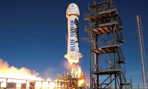 Blue Origin çalışanları korona virüse yakalandı