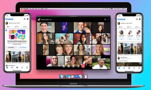 Zoom rakibi Facebook Messenger Rooms kullanımda