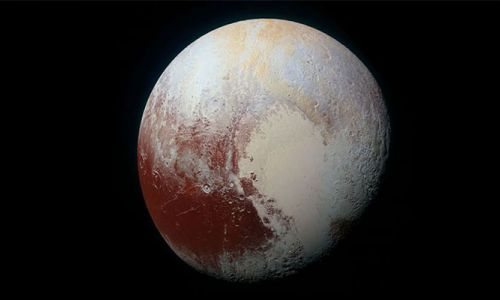 Plüton'un buzlu kabuğunun altında bir okyanus olabilir