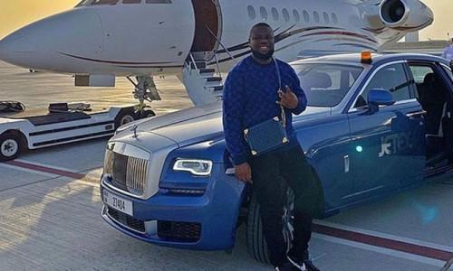 Nijeryalı fenomen, Dubai'de 30 milyon sterlin ile yakalandı