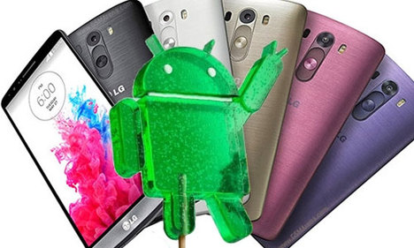 LG G3 Android 5.0 güncelleme hataları sorunları