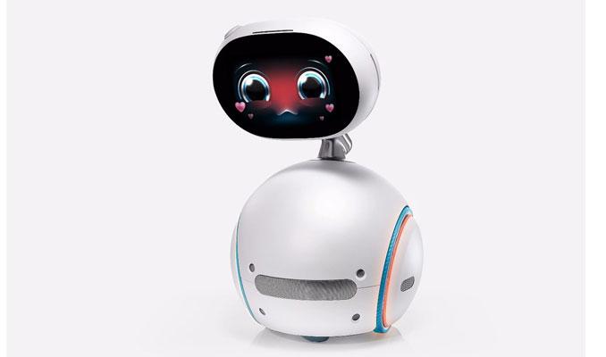Asus'tan evde her işe koşan robot Zenbo