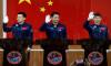 Çin, uzay istasyonuna göndereceği taykonot ekibini tanıttı