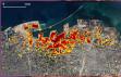 Beyrut'taki patlamanın uydu görüntüsü yayınlandı