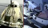 SpaceX'in uzaya gönderdiği astronotlar Dünya'ya geri döndü
