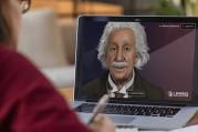 Einstein dijital olarak hayata döndürüldü