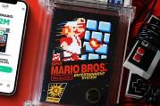 İki milyon dolara satılan Super Mario oyunu rekor kırdı