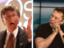 Elon Musk'tan Bill Gates'e: En ufak bir fikri yok
